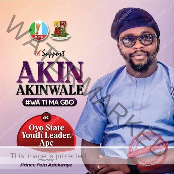 Akin Akinwale New Ads